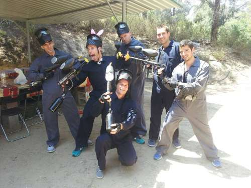 Paintball low cost Terrassa