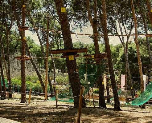 Despedidas y teambuildind en un parque de aventura en Salou, OFERTA Tarragona. 2