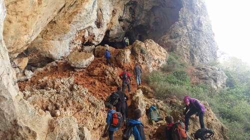 Visitas a cuevas. Espeleología. Alicante/Alacant