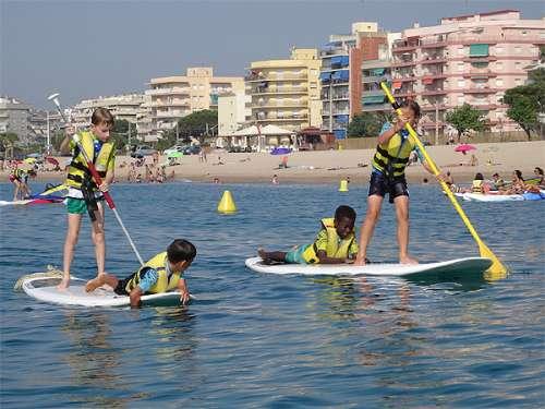 Actividades familiares en la playa, OFERTA Barcelona. 2