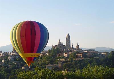 Vuelos: experiencias, paseos aereos, turismo y paseos aereos Segovia