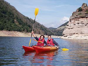 Kayaks: alquiler, excursiones, rutas y turismo Barcelona
