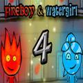 jeu gratuit Fireboy & Watergirl 4: Crystal Temple