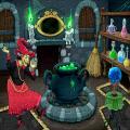 joc gratis La poció màgica de la petita bruixeta
